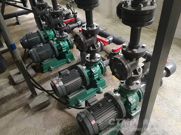 IHF-D fluorine plastic centrifugal pumps